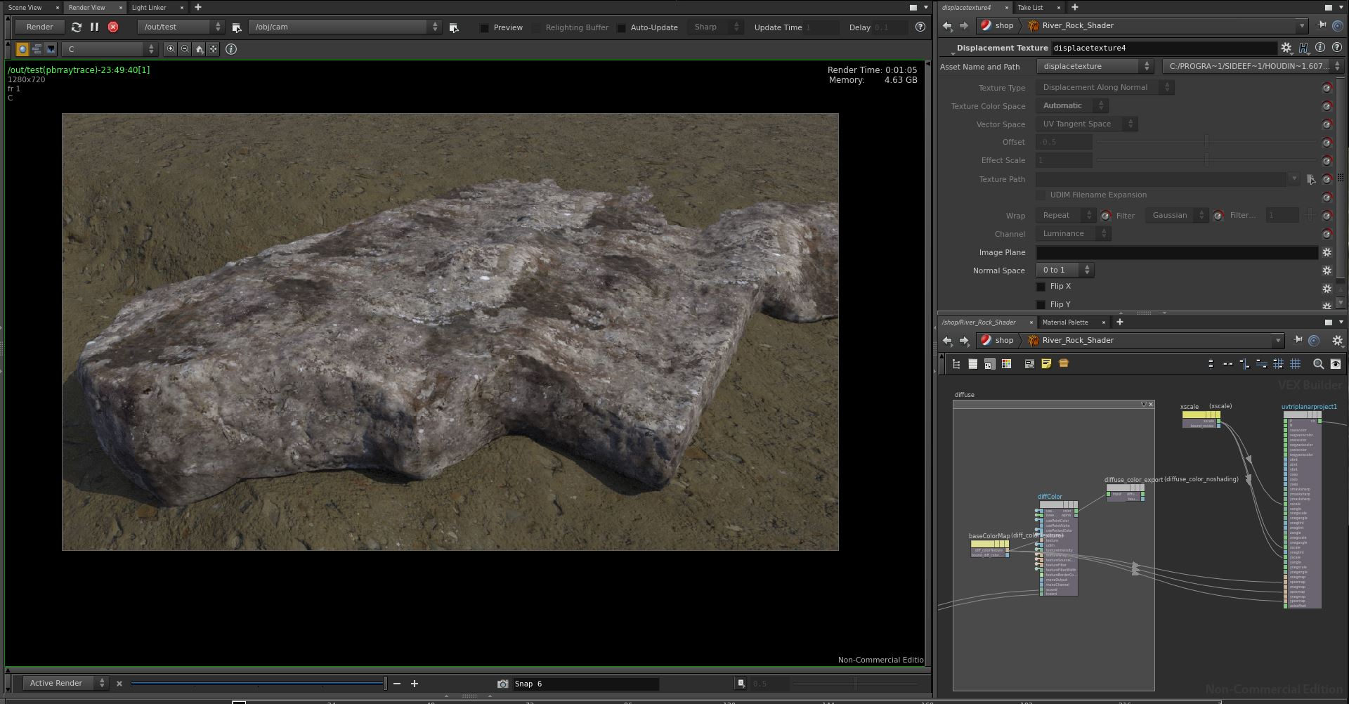 Triplanar Projection and Displacement - General Houdini Questions