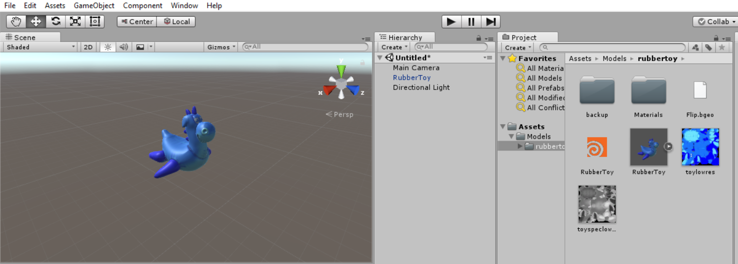 Matariel export to Unity with FBX - General Houdini