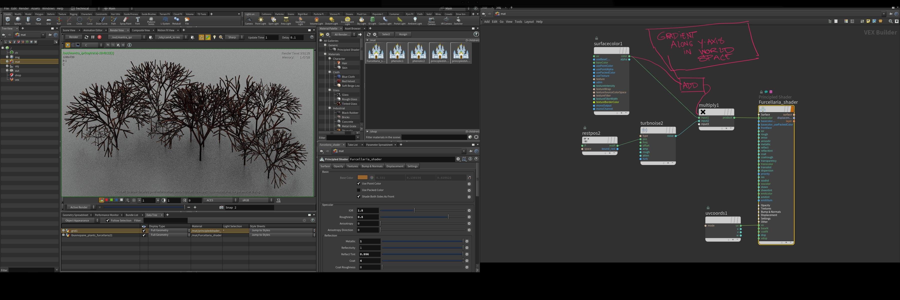 Gradient ramp along Y-axis in shader - Lighting & Rendering - od|forum