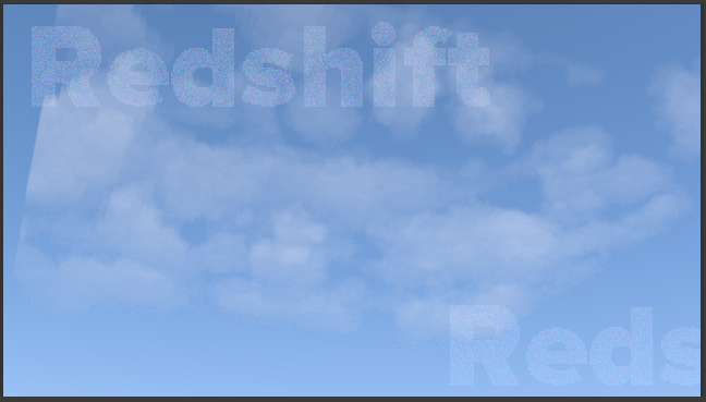 Rendering clouds with the