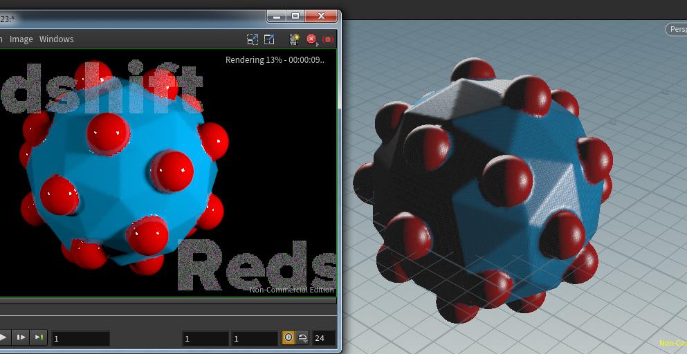 Multiple Redshift Shaders per geometry - Lighting & Rendering - od|forum