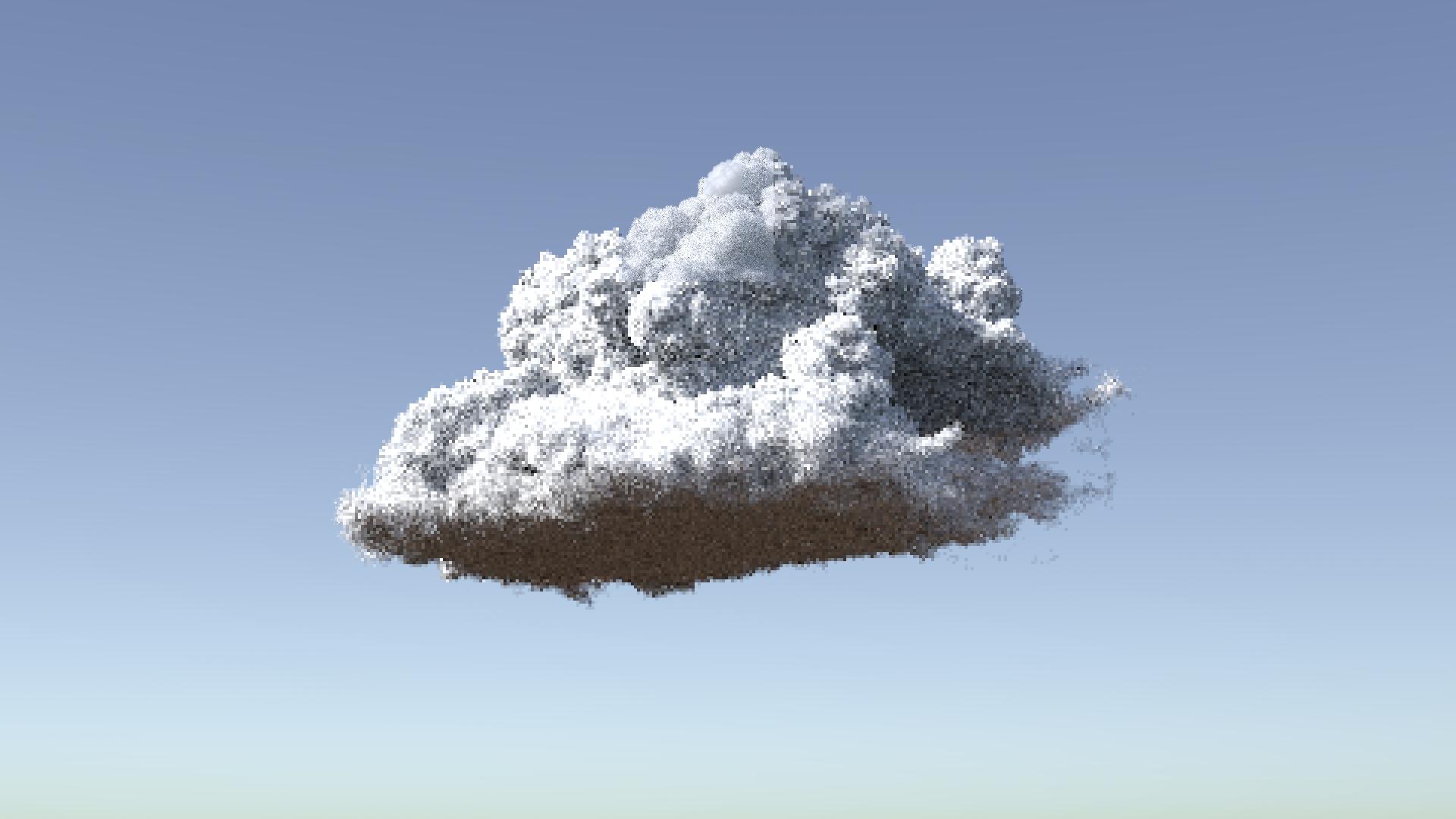 Dense cloud shader (wdas cloud hype) - Shaders - od forum
