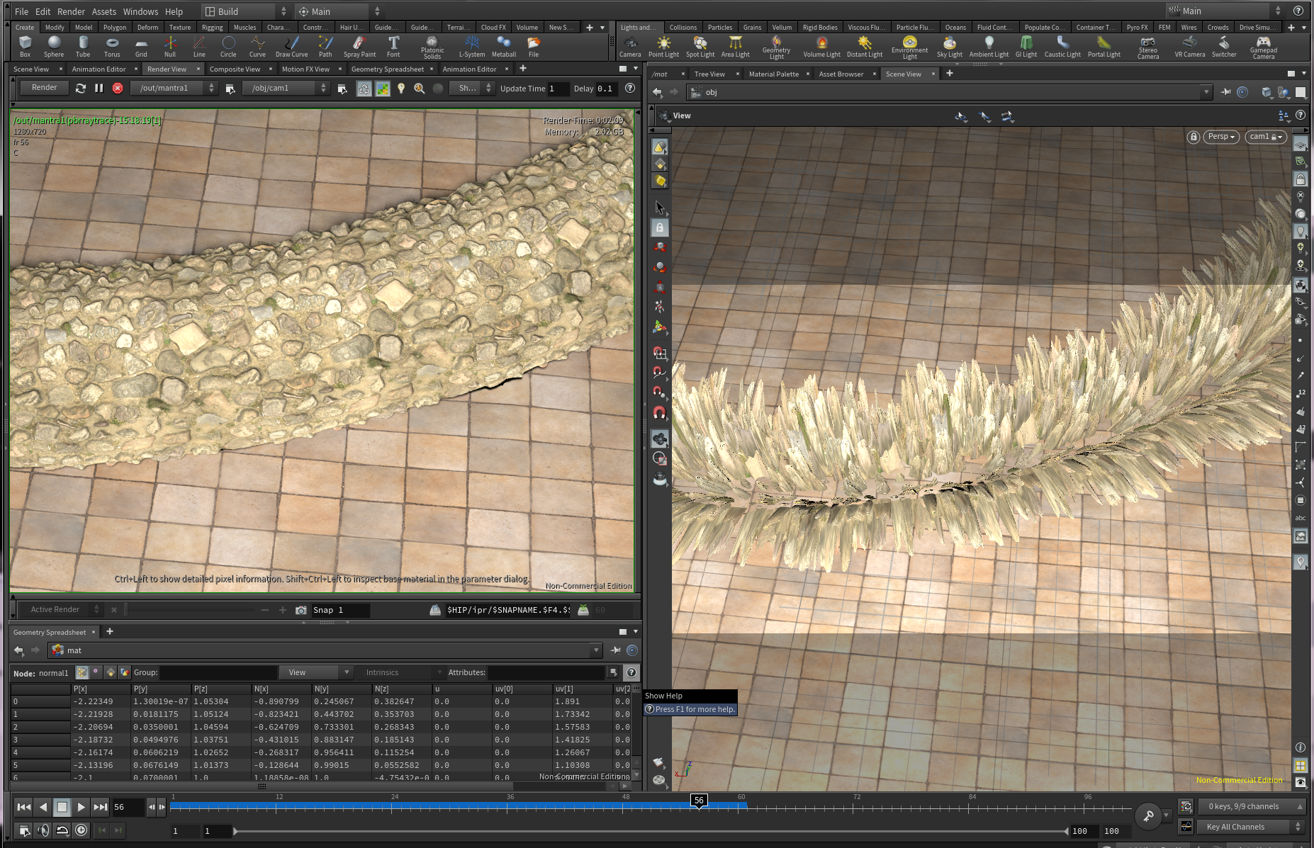 Texture displacement looks different in viewport and render