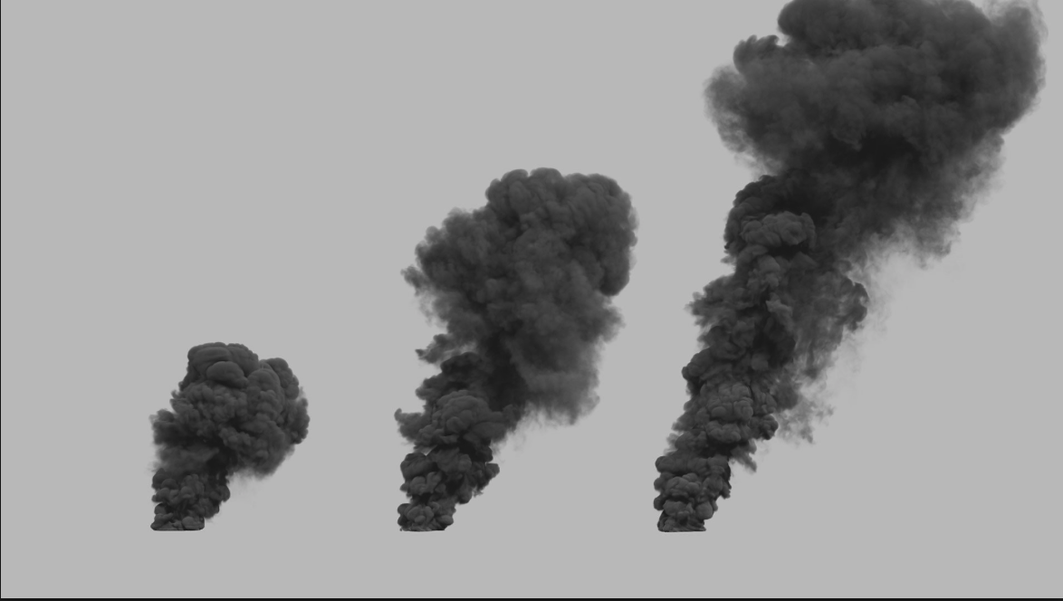 Simple Large Scale Smoke Plumes Effects Od Forum