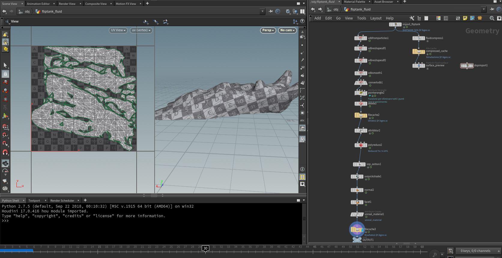 Game Dev - Vertex Animation Texture FLUID - Games - od|forum